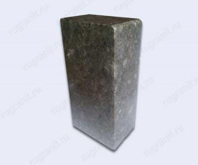 Бордюр из лабрадорита 30x15 см, серый