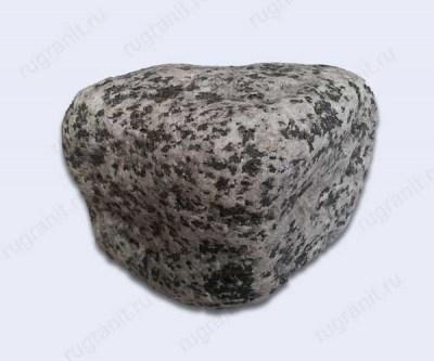 Галтованная брусчатка из гранита, 5x5x5 см, цвет серый, покостовка