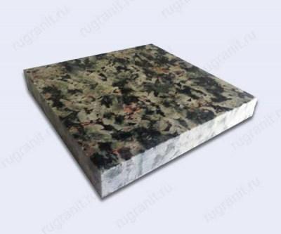 Плита из гранита полированная, 20x20x3 см